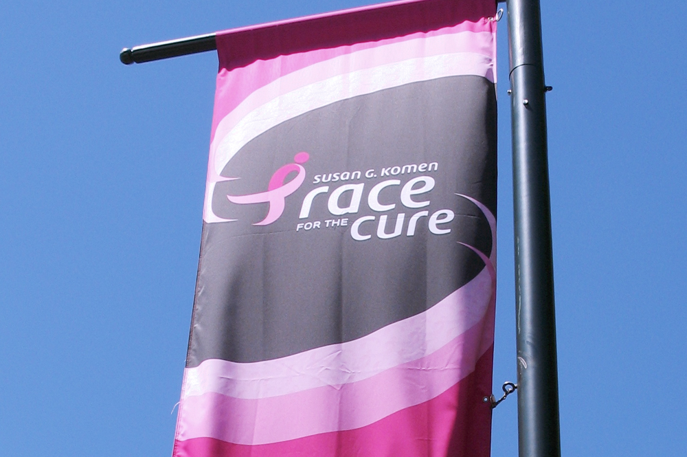 Event Graphics Including Street Pole Banners